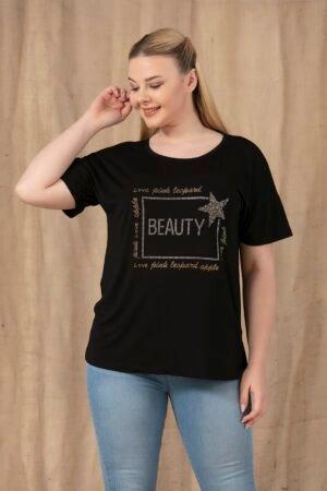moteriški juodos spalvos marškinėliai 03